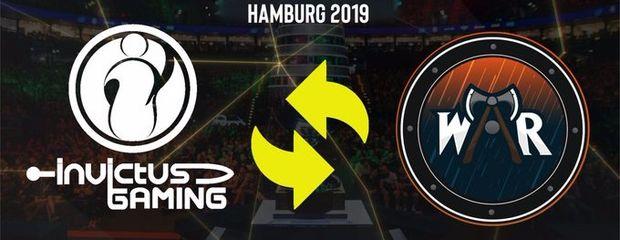 Wind and Rain заменит Invictus Gaming на ESL One Hamburg