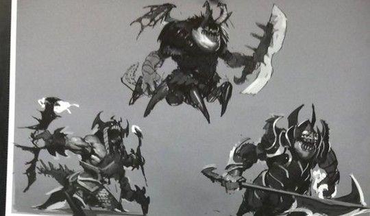 Концепт-арт Abyssal Underlord