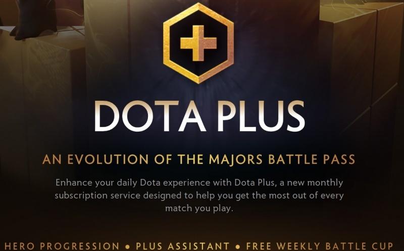 сервис Dota Plus