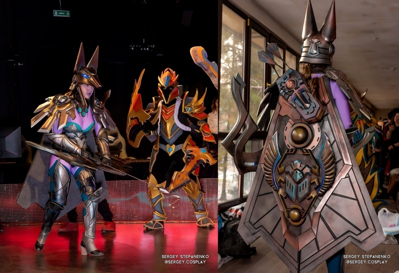 Dota 2, Drow Ranger,Dragon Knight