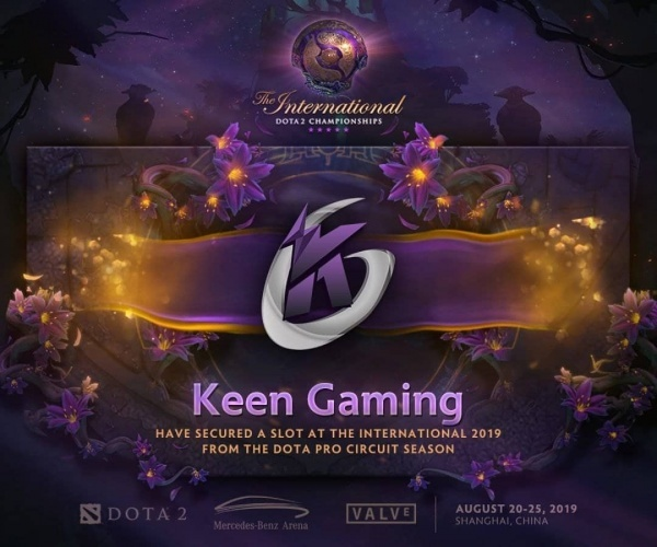 The International 2019, dota2, keen gaming