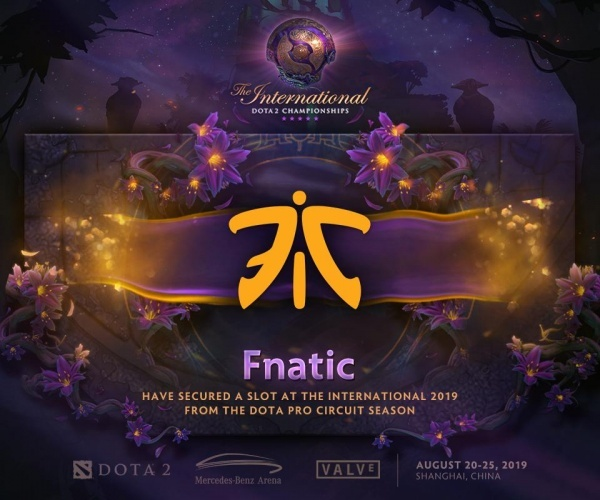The International 2019, dota2, fnatic