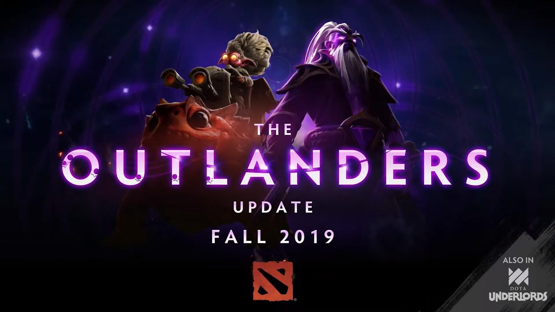 В Dota 2 вышло обновление The Outlanders